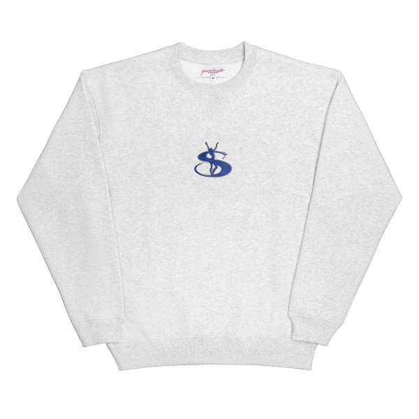Yardsale YS Embroidered Crew Neck Sweatshirt (Ash)