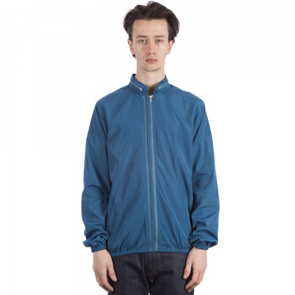 YMC Perforated Double Zip Jacket (Blue)