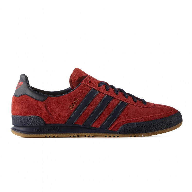apodo Desobediencia septiembre  adidas Originals Jeans MKII (Red/Collegiate Navy/Gum 2) - Consortium.