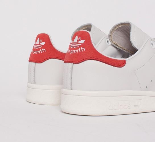Adidas Stan Smith Neo White Red
