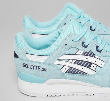 asics gel lyte 3 femme blue tint white