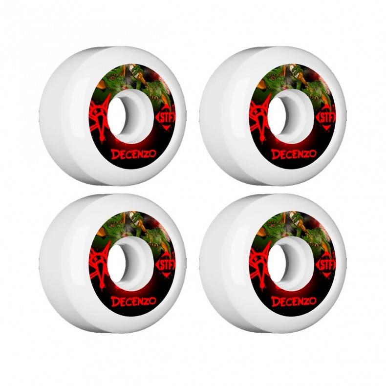 STF V5-54mm Skateboard Wheels Decenzo Yum Yum BONES Street Tech Formula