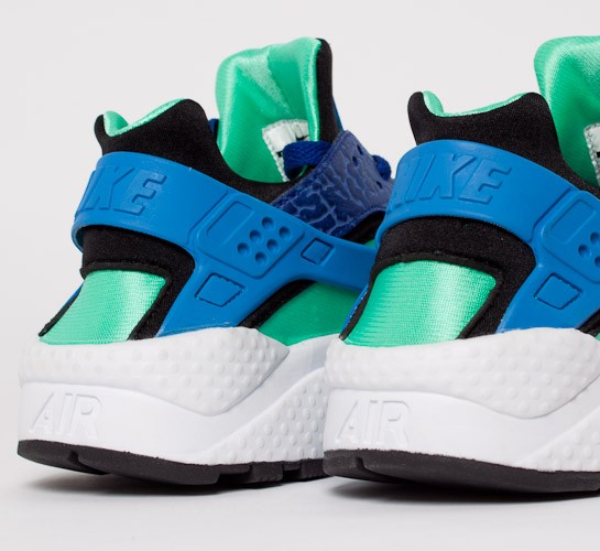 Nike Air Huarache Deep Royal Blue Blue Hero Green Glow