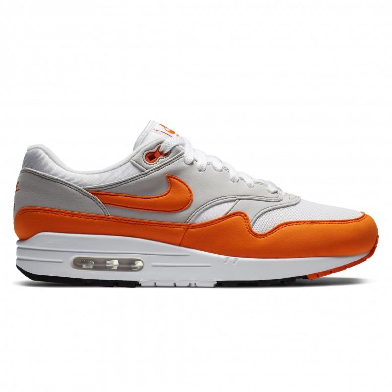 Disarmato Detectable ricevuta  Nike Air Max 1 'Anniversary' (White/Magma Orange-Neutral Grey-Black) -  DC1454-101 - Consortium