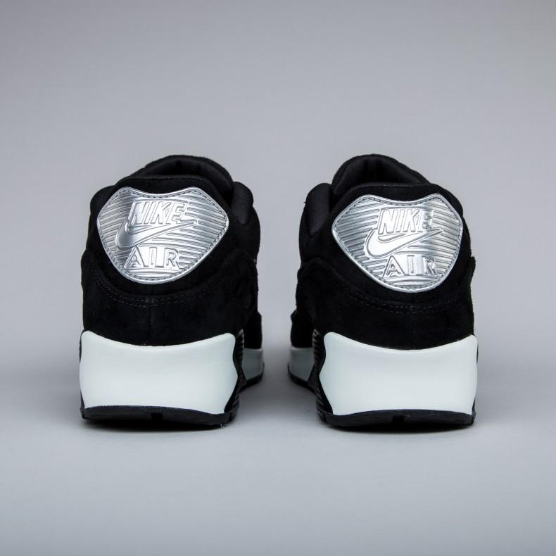 permanecer Hormiga después de esto  Nike Air Max 90 Premium 'Rebel Skulls' (Black/Black-Off White) - Consortium.