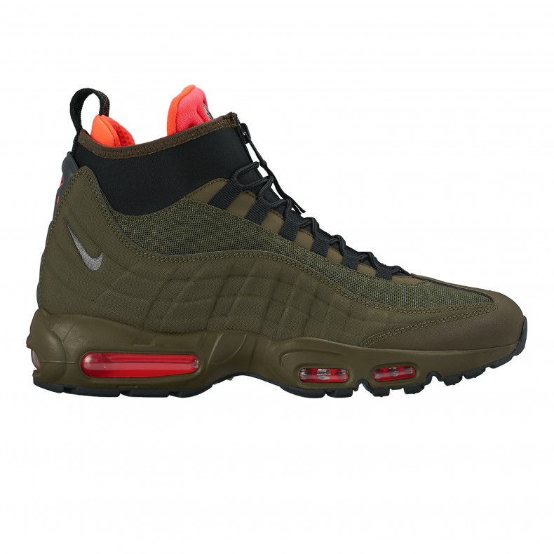 Nike Air Max 95 Sneakerboot Khaki