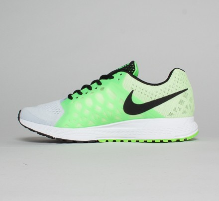 buy online d1055 27d4a ... official mens nike zoom pegasus 31 white green . 80a9f faa02