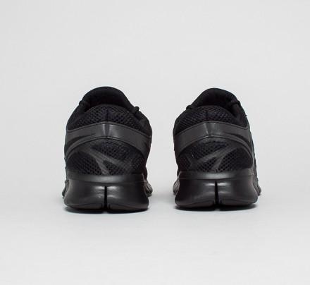 Nike Free Run 2 Black Metallic Silver