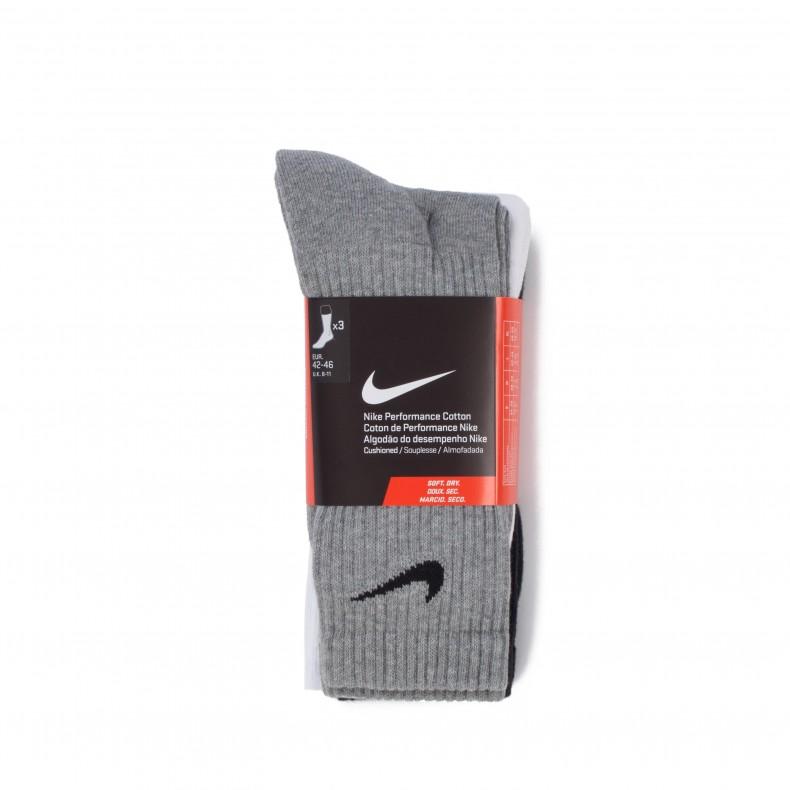 Profeta perdonado Ropa  Nike Performance Cushion Crew Training Sock Triple Pack (Multi-Colour) -  Consortium.