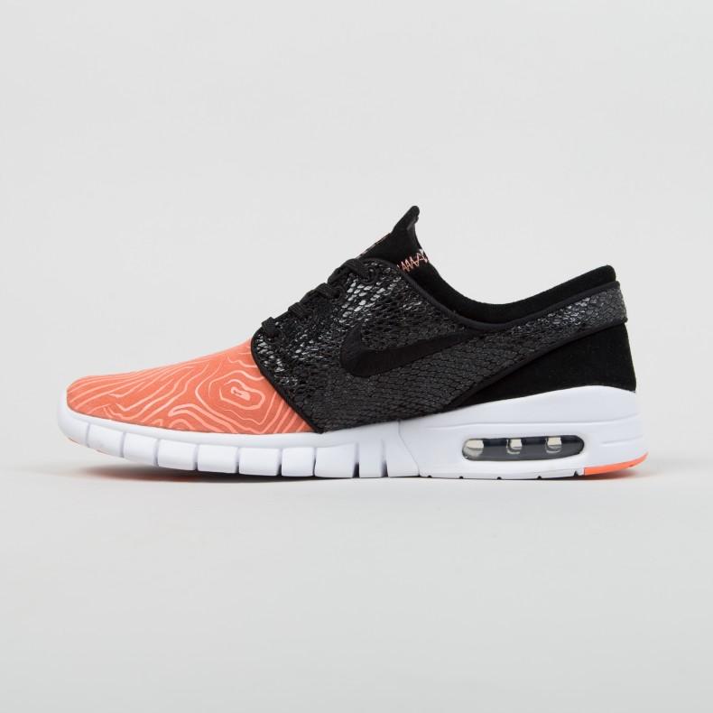 posteriore Scultore Gentilezza  Nike SB x Premier Stefan Janoski Max L 'Fish Ladder' (Atomic  Pink/Black-Arctic Orange-White) - Consortium