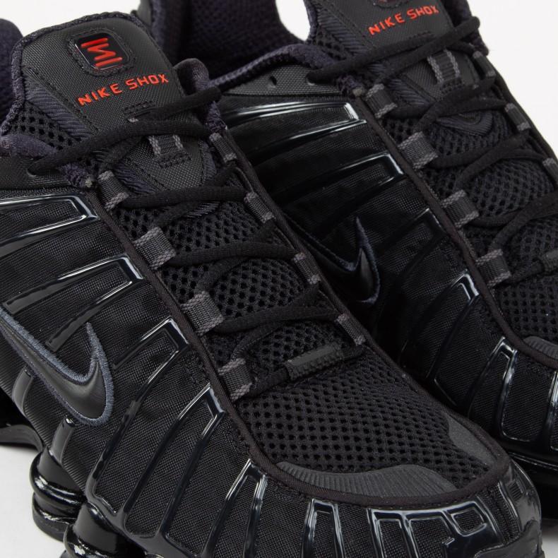 Nike Shox TL 'Metallic Hematite' (Black/Black-Metallic ...