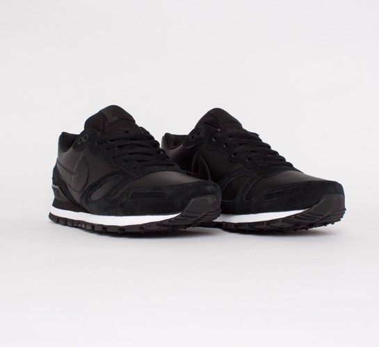 Nike Air Waffle Trainer Leather (Black