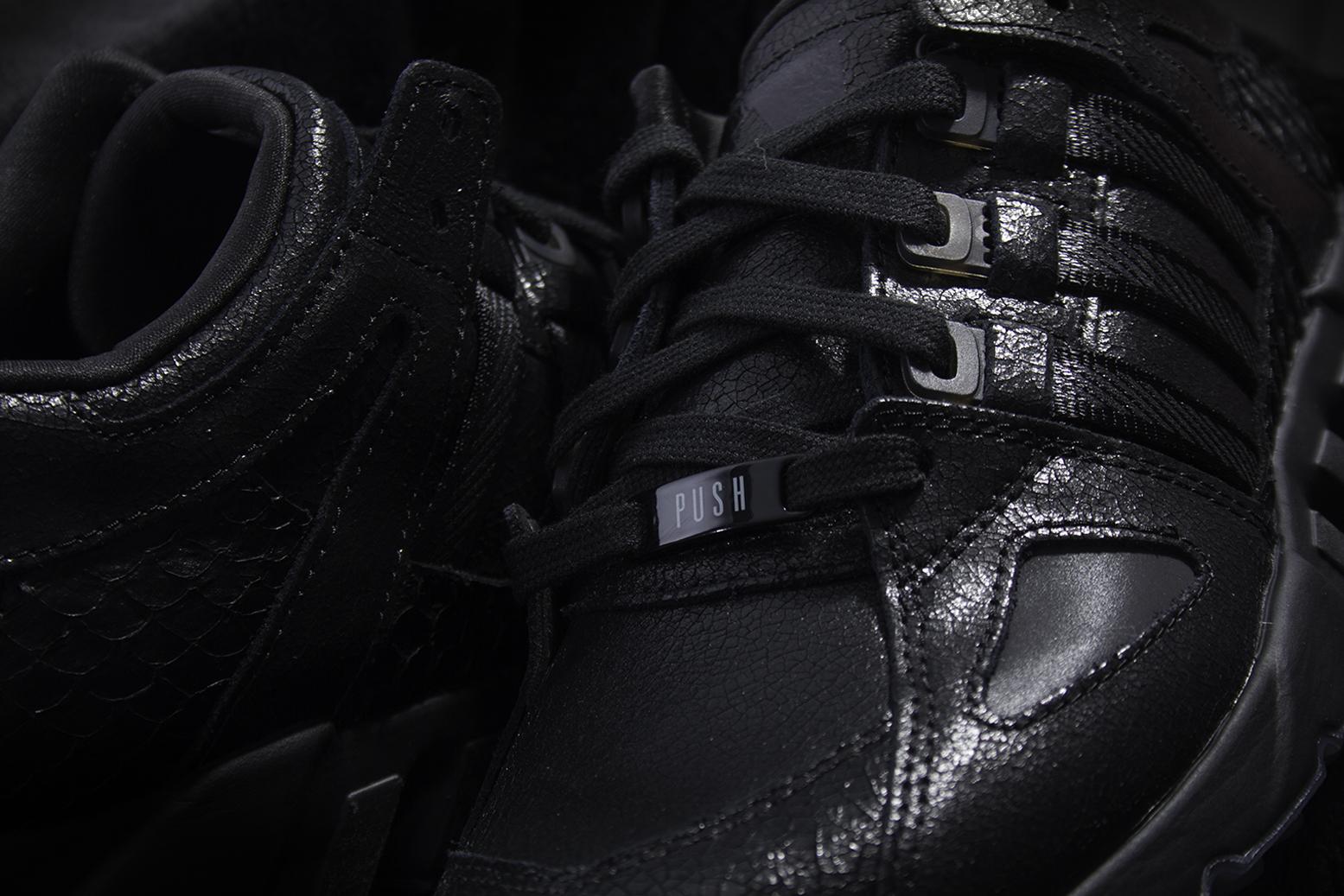 cheap for discount 144b4 aa64c adidas x Pusha T EQT Running Guidance 93 Black Market