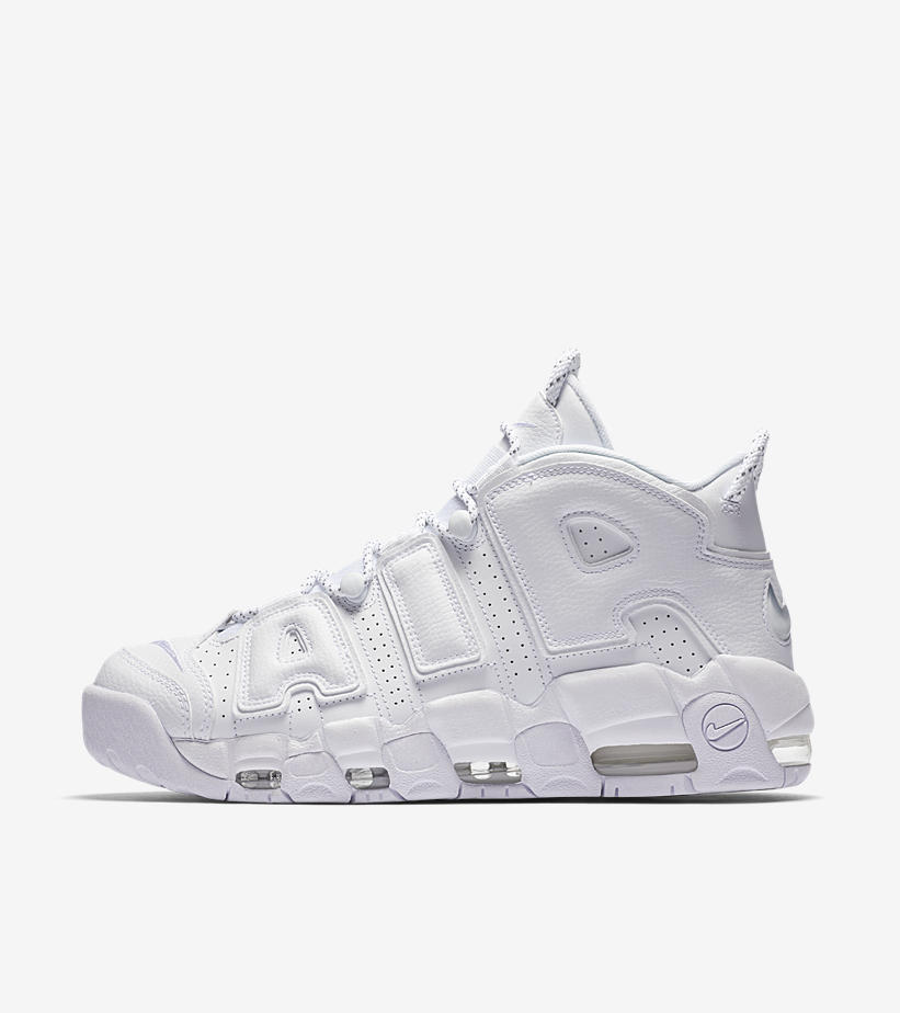 Nike Air Uptempo White on White Pack