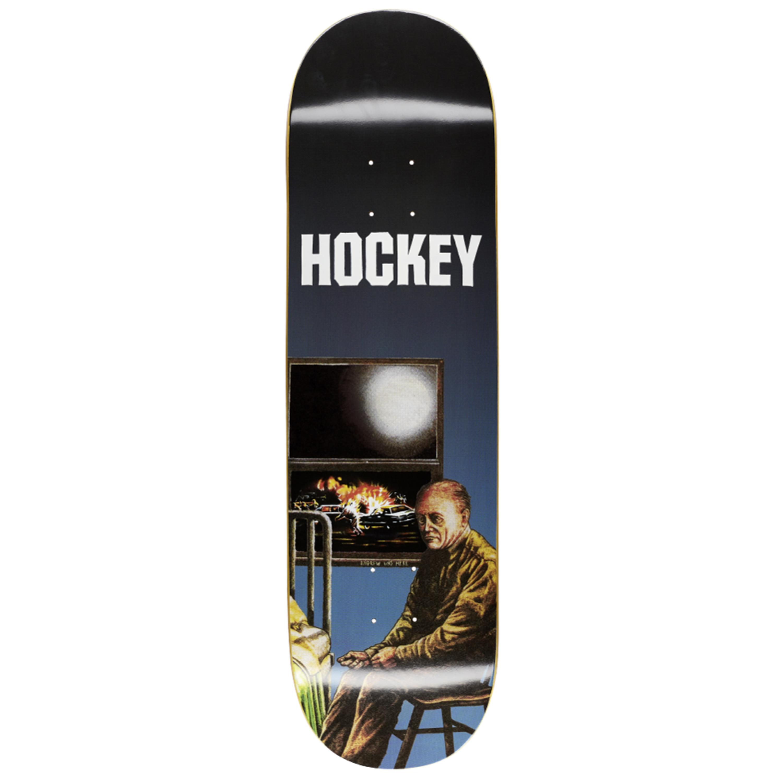 "Hockey Stay Inside Andrew Allen Pro Skateboard Deck 8.5"" - Consortium."