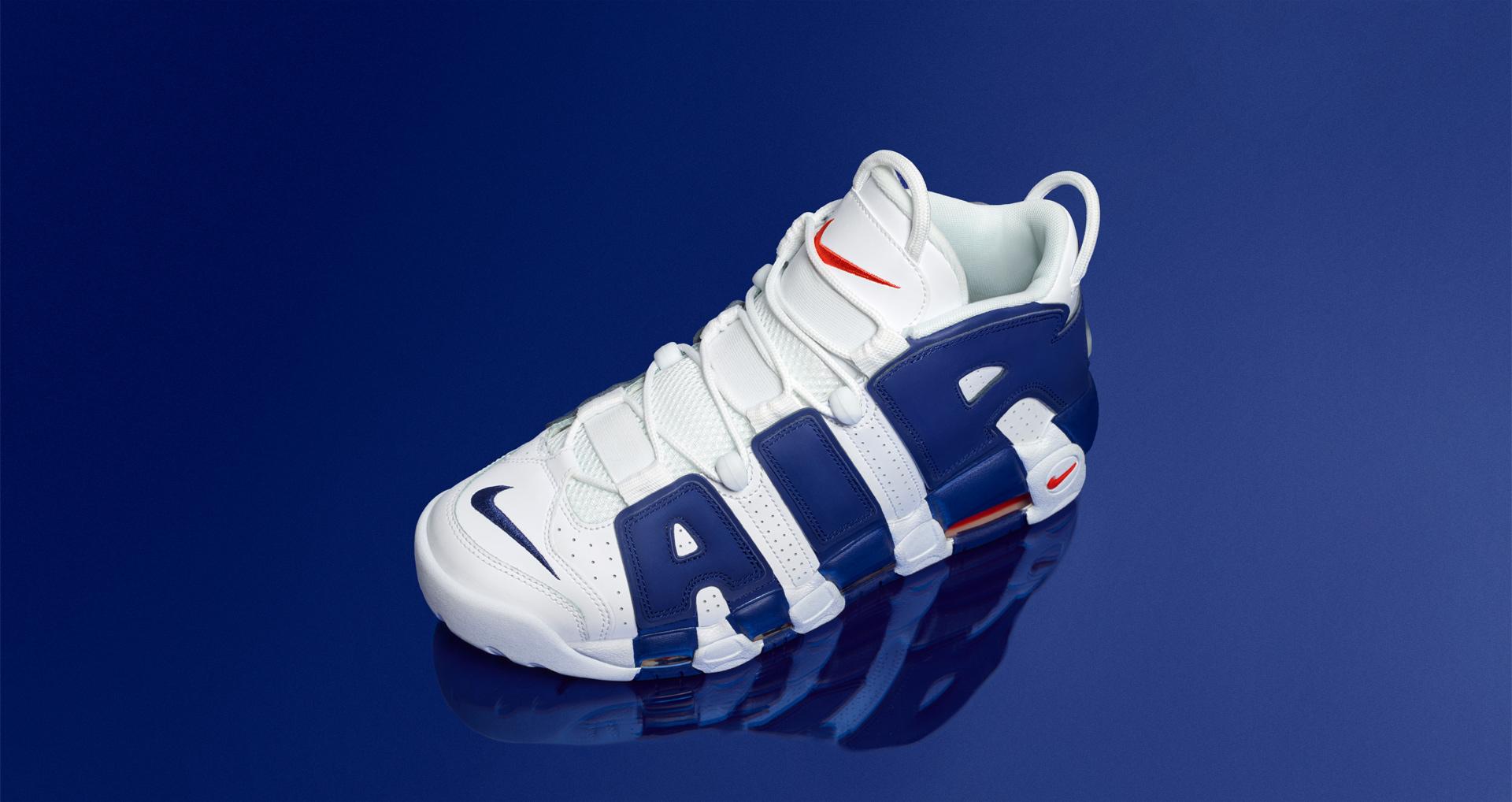 10dbbfc9b62 Nike Air More Uptempo 96 Knicks / Consortium
