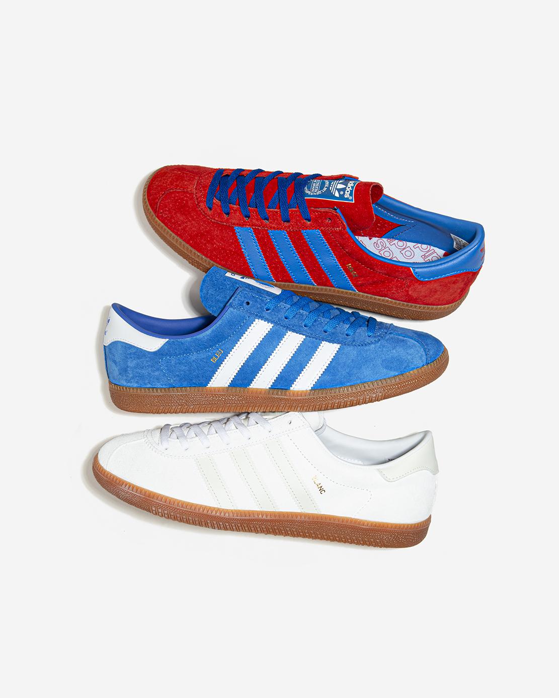 adidas Originals Rouge, Bleu, Blanc / Consortium